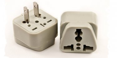 SS-410 Universal Plug Adapter for Standard USA Outlet