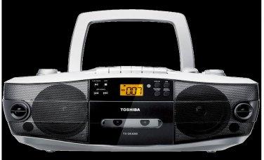Toshiba TX-DK3000 Dual Voltage CD Radio Cassette Boombox
