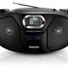 Philips AZ382 220 Volt CD Player w/USB & MP3 (220V NON-US Compliant)