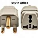 Type M SS-415SA South Africa Universal Grounded Plug Adapter Big Three Round Prongs