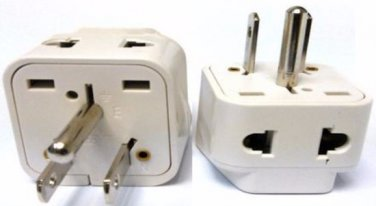 SS-717 Universal to USA Grounded Plug Adapter For North America Type B