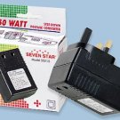 SS215 50 W Watt US To UK Converter 220 to 110 Volt to Use USA Appliances in UK