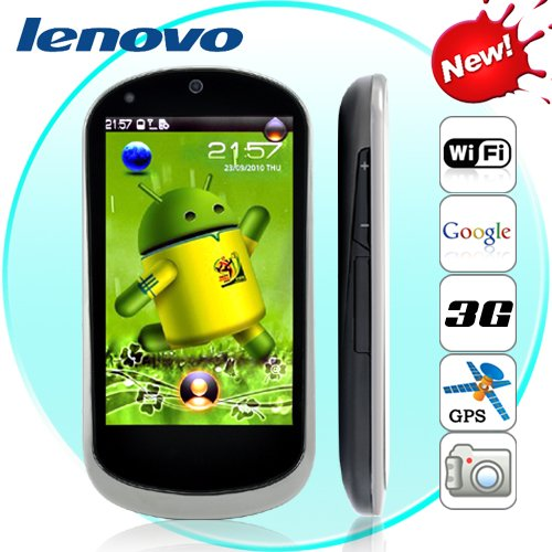 Lenovo LePhone (Android, 3.7 AMOLED Touchscreen, 3G, WIFI)