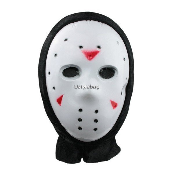 Scary Devil Mask with Black Kerchief for Halloween Costume Ball