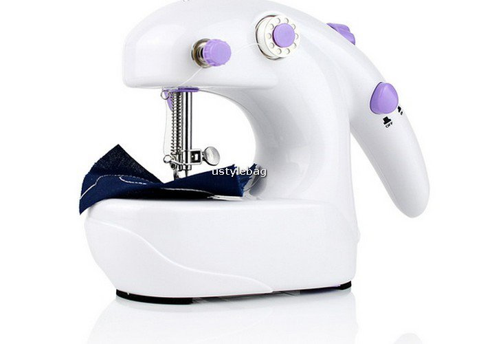Mini Portable Desktop Battery Operated Sewing Machine free shipping