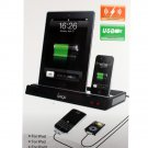 IPEGA Charger Docking Station + Stereo Speaker For iPad 2 Apple iPhone 3G 4G iPod Free shipping