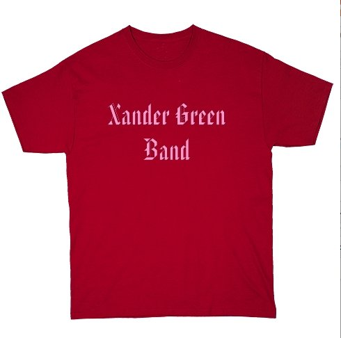 Red Basic Dark T-Shirt