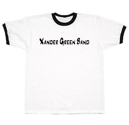 White/Black Ringer T-Shirt