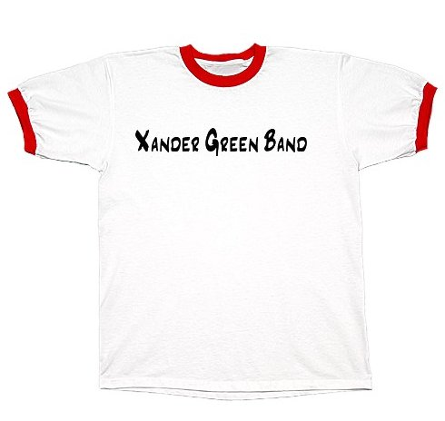 White/Red Ringer T-Shirt