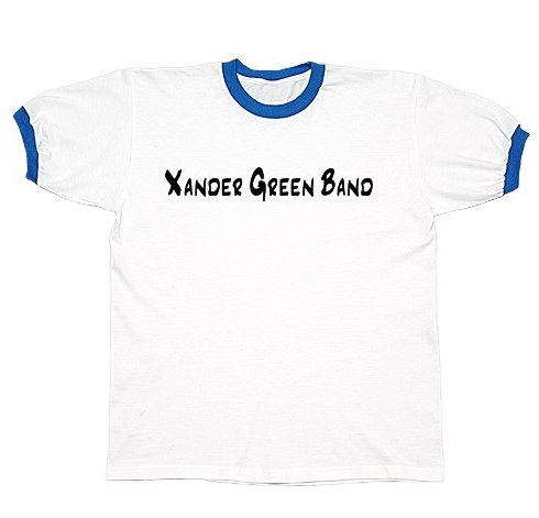 White/Royal Ringer T-Shirt