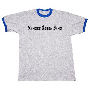 Grey/Royal Ringer T-Shirt