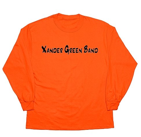 Orange Basic Long Sleeve