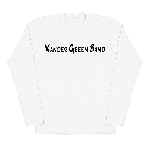White American Apparel Long Sleeve (Fitted)