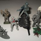 Vintage Toy Soldiers, horse and more- 8 pieces total