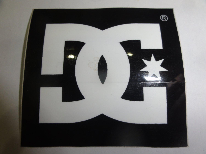 Skate Shoe Brands Logos Dc shoes brand logo sticker