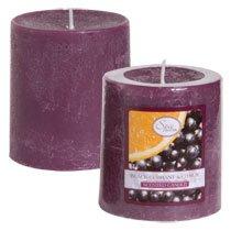 "Luminessence Black Currant & Citrus Pillar Candles, 2�"""