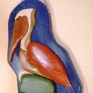 Pelican Pete – Mosaic Relief Carving