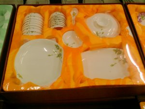 Chinaware Magnesia Porcelain Dinnerware Set 38 PCS Flower 05