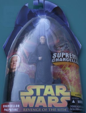 Star Wars Revenge of the Sith CHANCELLOR PALPATINE #14 unopened
