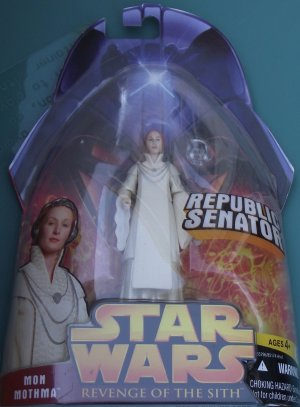 Star Wars Revenge of the Sith MON MOTHMA #24 unopened