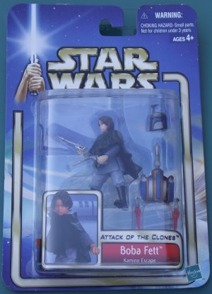 Star Wars 2002 BOBA FETT #07 unopened