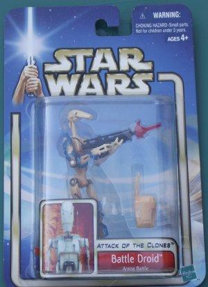 Star Wars 2002 BATTLE DROID #11 unopened