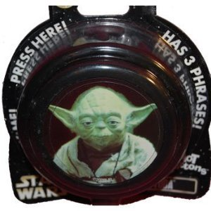 AUTHENTIC ORIGINAL DISNEY PARKS Star Wars YODA Hot Button