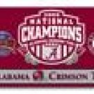 2009 BCS National Champions Alabama Crimson Tide Flag