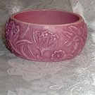 Vintage Two Tone Pink Summer Bangle Bracelet