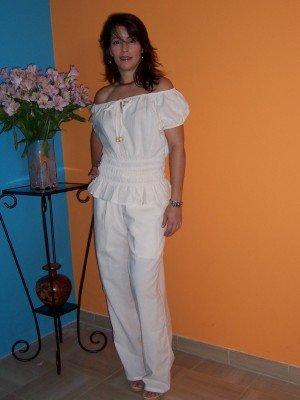 Typical Blouse and Pants Set