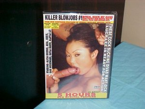 Killer Blowjobs #1!!  5 Hours New Sealed in Case!!