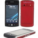 F035 Quad-band FM Touch Screen Dual Sim Standby Cell Phone (Red)