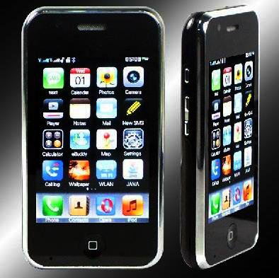 M002 Quad-band FM Touch Screen Dual Sim Standby Cell Phone (Black)