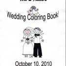 Wedding Coloring Activity Books Custom Made