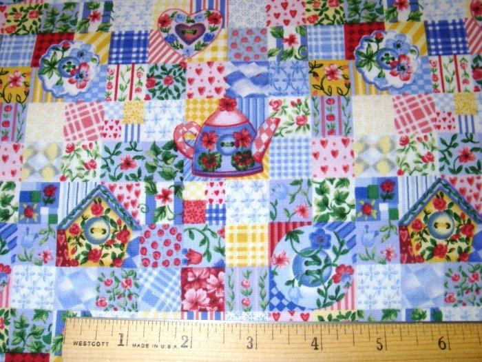 1 yard - Northcott - Cute as a Button fabric
