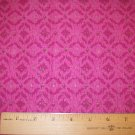 1.5  yard - African design - Hot pink fabric