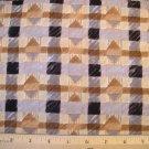 1.97 yard - South Seas Imports - Peaceful Kingdom - Teresa Kogut - Safari Diamond fabric - Piece #1
