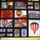 7/8 yard - Northcott - Start Art-US #728 by Rick Vanderpool - Balloon Fiesta Fabric