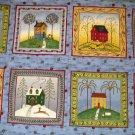Debbie Mumm - Four Seasons Block Panel - 8 blocks total - OUT OF PRINT