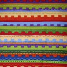 1 yard -  Bright multi stripe Hop a Long Pals Bonijean South Seas Imports fabric