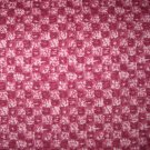7/8 yard - Rose and Mauve Checkerboard print fabric