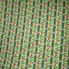 1.8 yards - Northcott - Tenderberry Stitches - Lady Bug Hugs - Green with Cherries - out of print