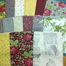 Moda Fat Quarter Bundle - Field Notes - 15 FQs in bundle - Brand new print!
