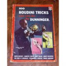 100 HOUDINI TRICKS YOU CAN DO BY DUNNINGER / Magic Book