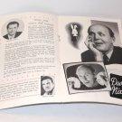 DAVID NIXON IN SHOWTIME PROGRAM / Vintage Magic Program