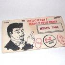 MYSTIC TAGS BY E-Z MAGIC  / Vintage Magic Trick