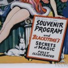 AUTOGRAPHED BLACKSTONE SR SOUVENIR COLOR PROGRAM (1946)