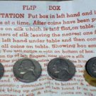 FLIP BOX WITH JEFFERSON NICKEL / Vintage Coin Magic