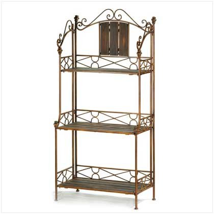 Rustic Bakers Rack Shelf Retail Price 179.95