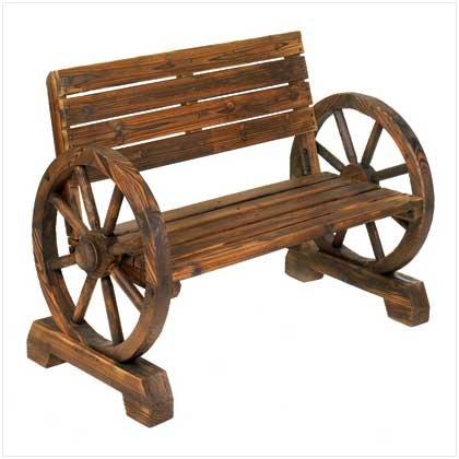 Wagon Wheel Bench Retail Price 199.95